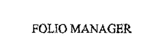 FOLIO MANAGER