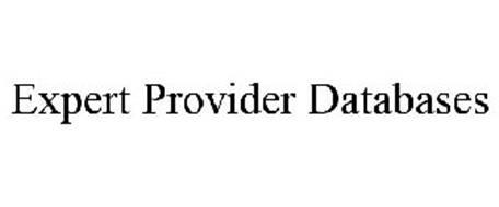 EXPERT PROVIDER DATABASES