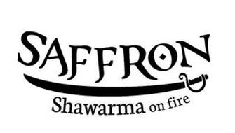 SAFFRON SHAWARMA ON FIRE