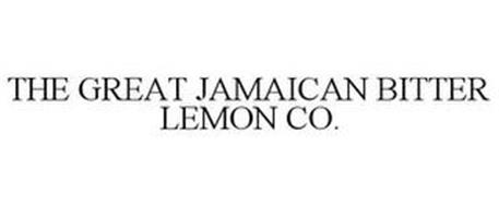 THE GREAT JAMAICAN BITTER LEMON CO.