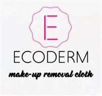 E ECODERM MAKE-UP REMOVAL CLOTH