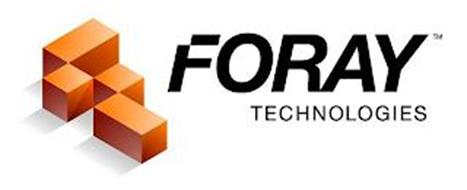 FORAY TECHNOLOGIES F