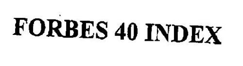 FORBES 40 INDEX