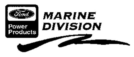 Ford power products marine division trademark of ford for Ford motor company number