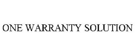 One warranty solution trademark of ford motor company for Ford motor company warranty