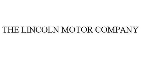 The Lincoln Motor Company Trademark Of Ford Motor Company