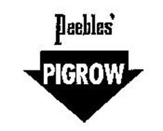 PEEBLES' PIGROW
