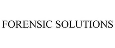 FORENSIC SOLUTIONS