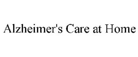 ALZHEIMER'S CARE AT HOME