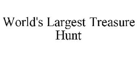 WORLD'S LARGEST TREASURE HUNT