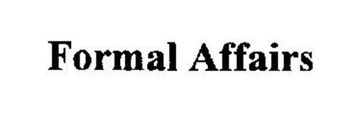 FORMAL AFFAIRS