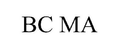 BC MA