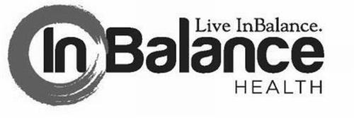 LIVE INBALANCE. IN BALANCE HEALTH