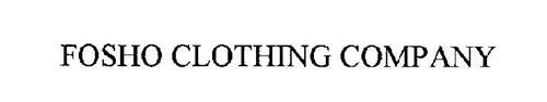 FOSHO CLOTHING COMPANY