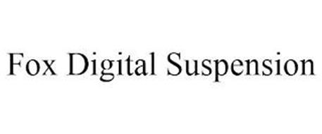 FOX DIGITAL SUSPENSION