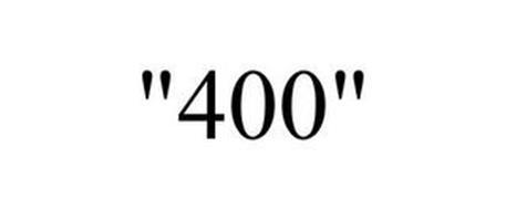 """400"""