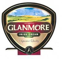 IMPORTED GLANMORE · IRISH CREAM · LIQUEUR SUPERIOR QUALITY AVONDHU LIQUEUR COMPANY LTD. A PRODUCT OF IRELAND