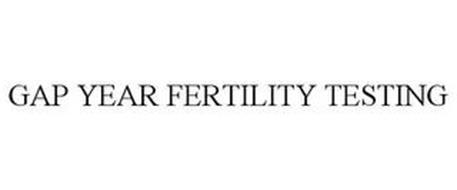 GAP YEAR FERTILITY TESTING