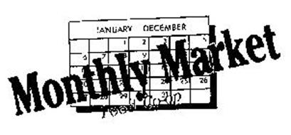 MONTHLY MARKET FOOD CO-OP JANUARY-DECEMBER