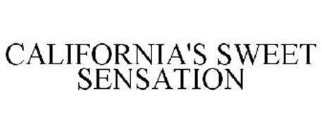 CALIFORNIA'S SWEET SENSATION
