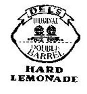 DEL'S ORIGINAL DOUBLE BARREL HARD LEMONADE