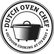 DUTCH OVEN CHEF OUTDOOR COOKING AT ITS BEST