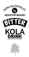 NON-ALCOHOLIC SENATOR BRAND BITTER KOLA DRINK LIQUID DIETARY SUPPLEMENT