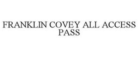 FRANKLIN COVEY ALL ACCESS PASS