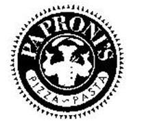 PAPRONI'S PIZZA PASTA