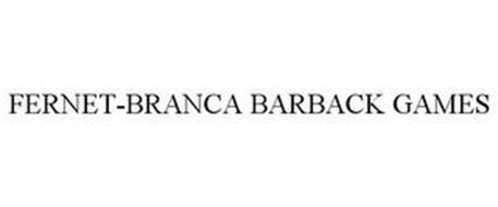 FERNET-BRANCA BARBACK GAMES