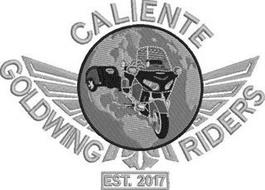 CALIENTE GOLDWING RIDERS EST. 2017