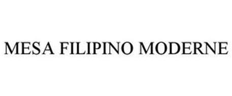 MESA FILIPINO MODERNE