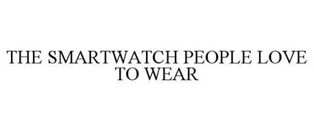 THE SMARTWATCH PEOPLE LOVE TO WEAR