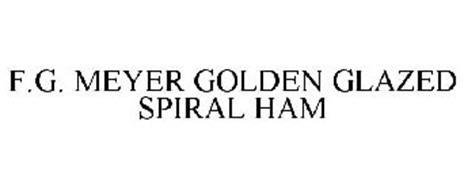 F.G. MEYER GOLDEN GLAZED SPIRAL HAM