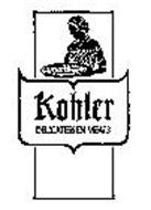 KOHLER DELICATESSEN MEATS
