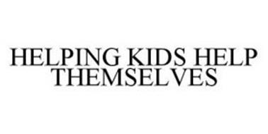 HELPING KIDS HELP THEMSELVES