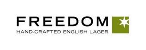 FREEDOM HAND-CRAFTED ENGLISH LAGER