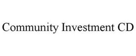 COMMUNITY INVESTMENT CERTIFICATE