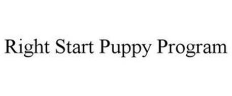 RIGHT START PUPPY PROGRAM