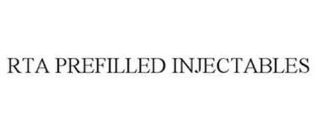 RTA PREFILLED INJECTABLES