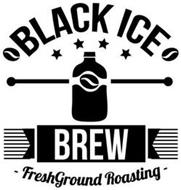 BLACK ICE BREW FRESHGROUND ROASTING