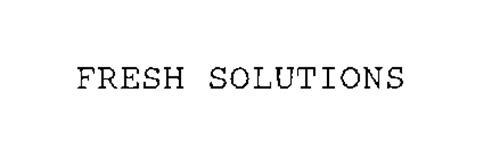 FRESH SOLUTIONS