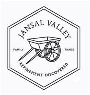 JANSAL VALLEY FAMILY TRADE REFINEMENT DISCOVERED