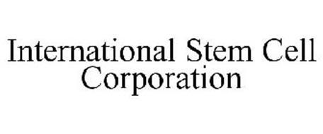 INTERNATIONAL STEM CELL CORPORATION