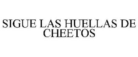 SIGUE LAS HUELLAS DE CHEETOS