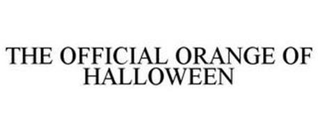 THE OFFICIAL ORANGE OF HALLOWEEN