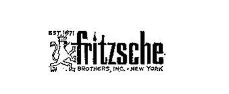 FRITZSCHE BROTHERS, INC. NEW YORK EST. 1871