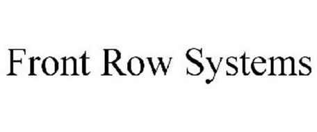 FRONT ROW SYSTEMS