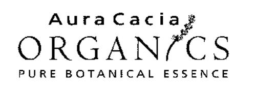 AURA CACIA ORGANICS PURE BOTANICAL ESSENCE