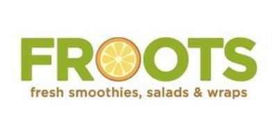 FROOTS FRESH SMOOTHIES, SALADS & WRAPS